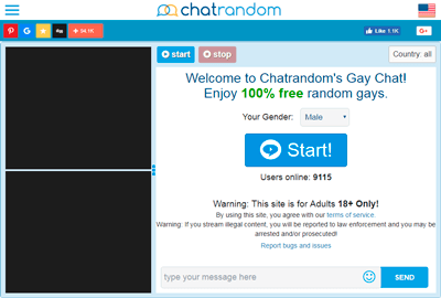 free gay video chat rooms